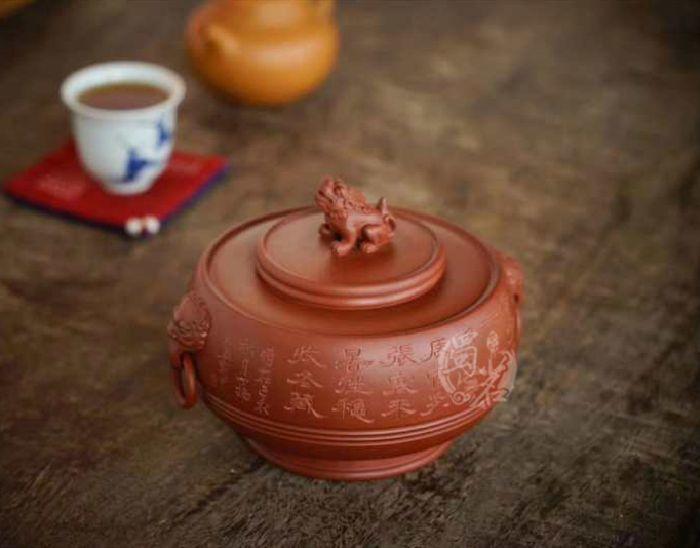 紫玉茶香瑞兽茶仓