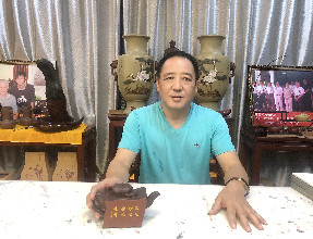 紫砂人物|徐门第五代传人——汤建林