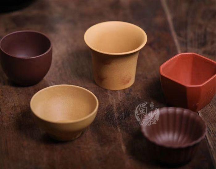 紫砂五组杯