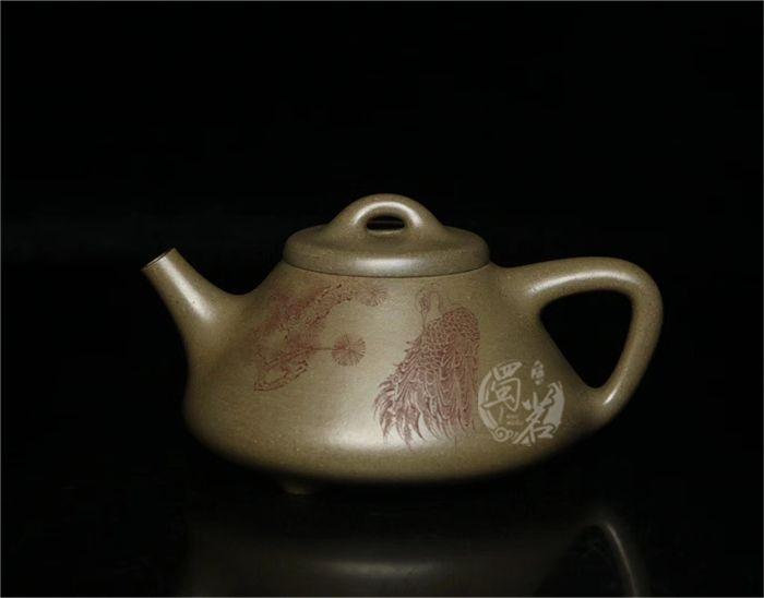 子冶石瓢(刘华刻绘)