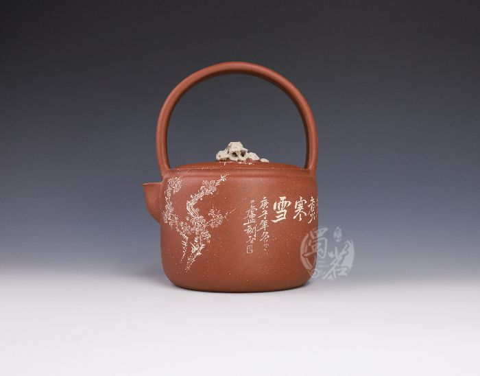 茶烟煮水壶